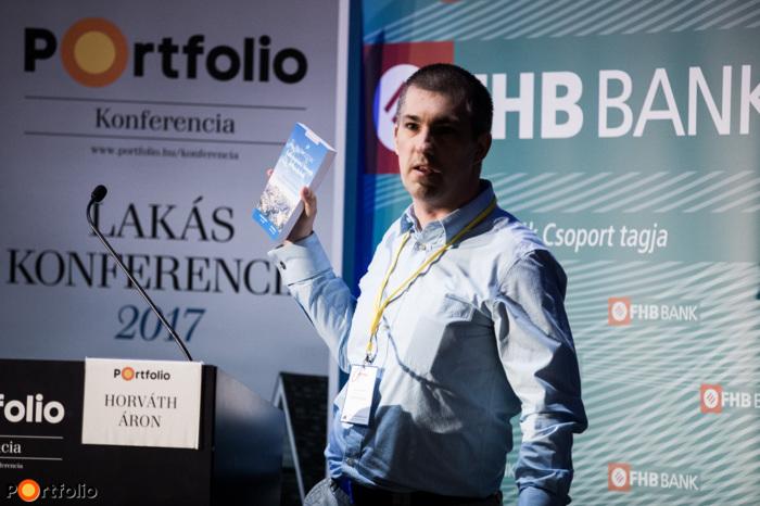 Horváth Áron, kutatóközpont vezető, ELTINGA / Lakás Riport: Ingatlanos Biblia - Tények és tévhitek a lakáspiacról (Fotó: Stiller Ákos)