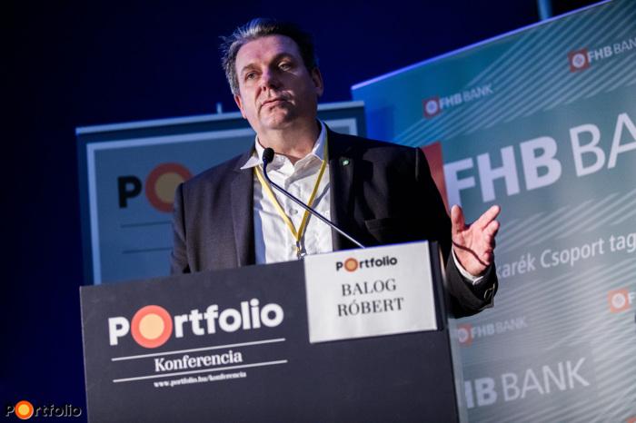 Balog Róbert (kiemelt ügyfelek és termékfejlesztési főosztályvezető, FŐTÁV Zrt.): Virtuális valóság a lakásépítésekben, avagy az energiaellátás tervezése a modern városokban (Fotó: Stiller Ákos)
