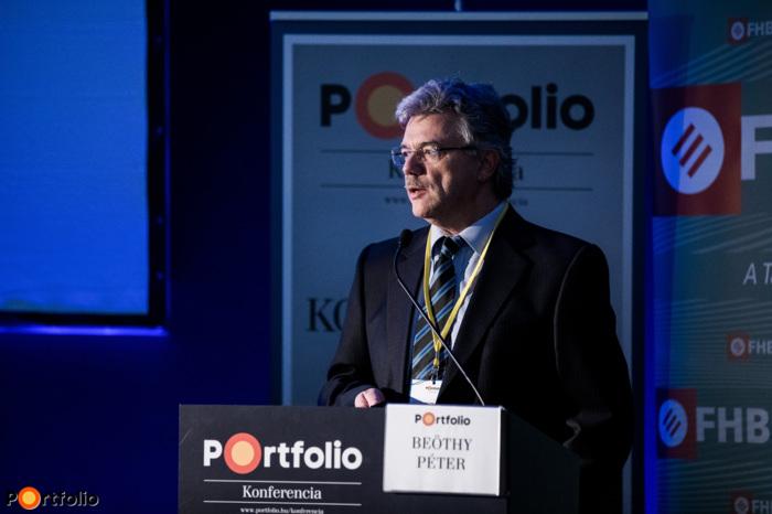 Beöthy Péter (Retail igazgató, MKB Bank Zrt.): Lakáshitel piaci trendek, innovációk, megoldások (Fotó: Stiller Ákos)