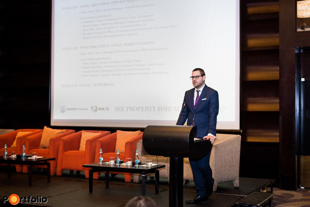 Welcome remarks: Csanád Csürös (CEO, Property Forum)