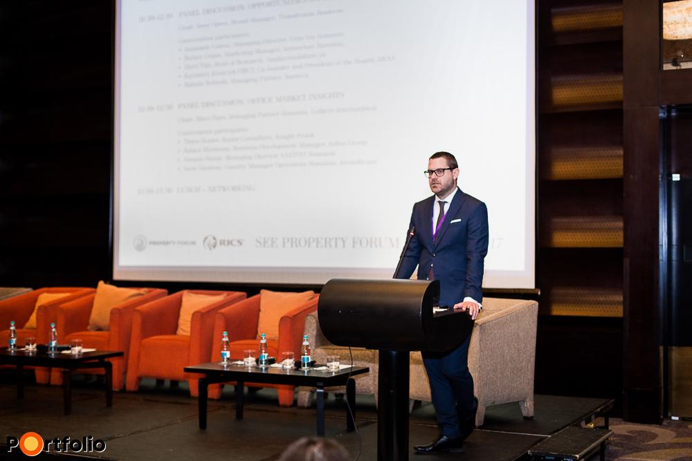 Welcome remarks: Csanád Csürös (CEO, Property Forum)