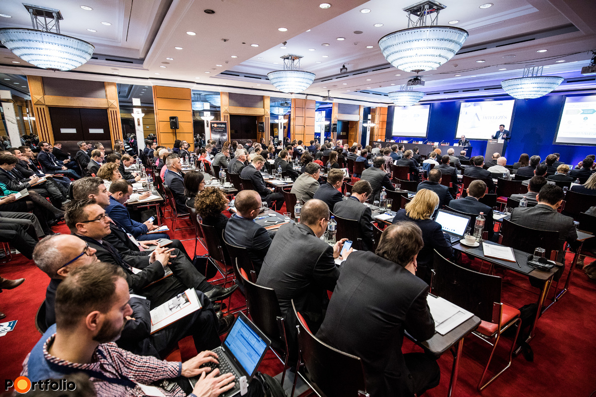 Csaknem 250 fő részvételével került megrendezésre a Portfolio Hitelezés 2017 konferencia
