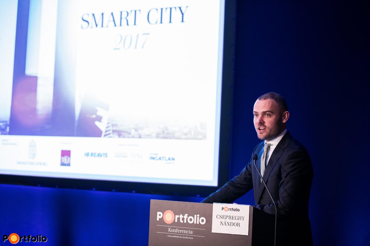 Csepreghy Nándor (parlamenti államtitkár, miniszter-helyettes, Miniszterelnökség): SMART Városfejlesztés: hogyan csináljuk alapból?