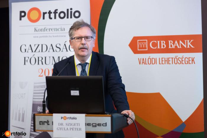 Dr. Szigeti Gyula Péter MD, PhD, kutatás-fejlesztési elnökhelyettes, Nemzeti Kutatási, Fejlesztési és Innovációs Hivatal
