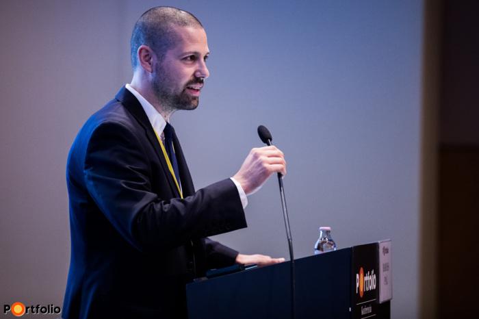 Ditróy Gergely, a Portfolio ingatlandivíziójának vezetője köszöntötte a vendégeket