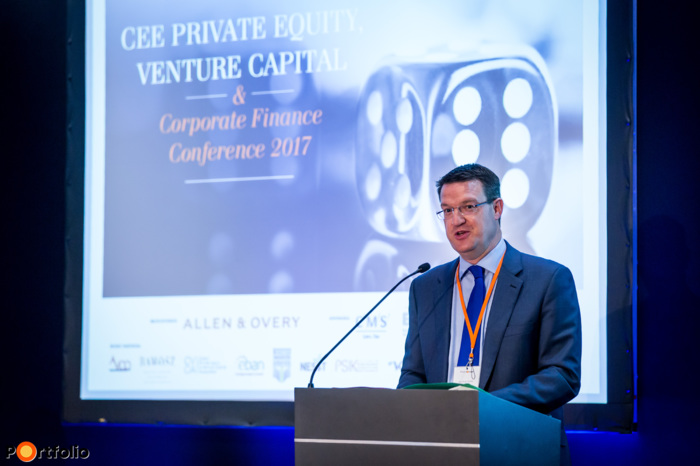 Hugh Owen, Partner of Allen & Overy welcomed the guests of the conference