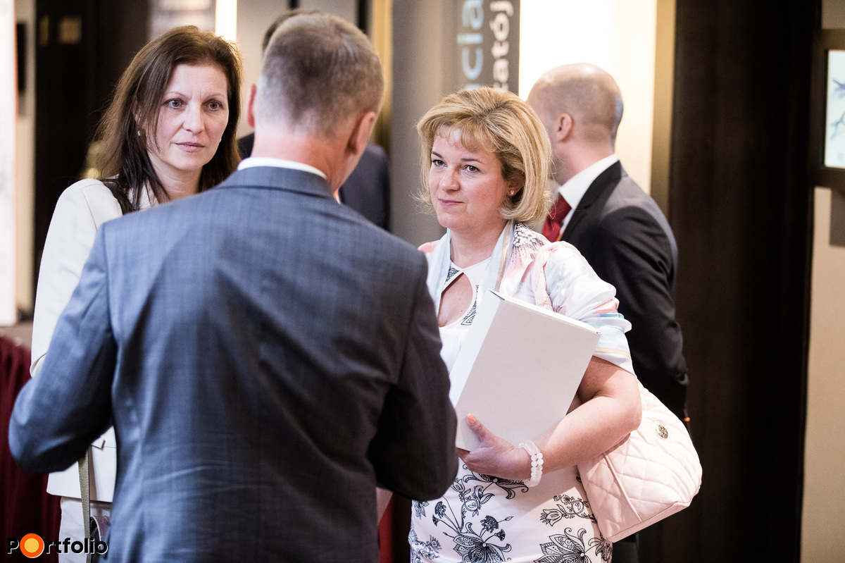 Networking - Kisuczki-Tóth Márta (Ramiris Europe Kft.) és Ferter Olga (Dutrade Zrt.)