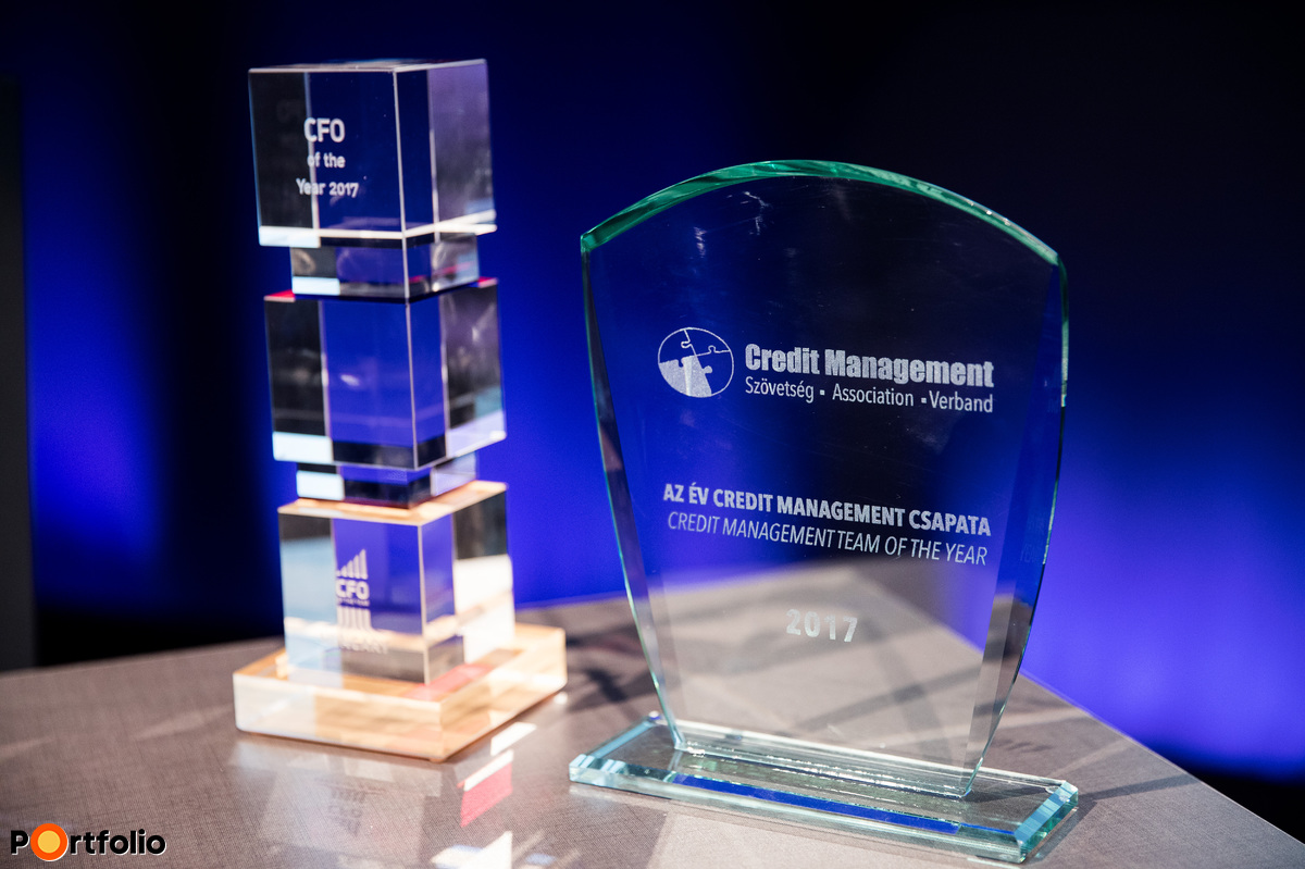 CFO of the year és Credit Management Team of the year díjak