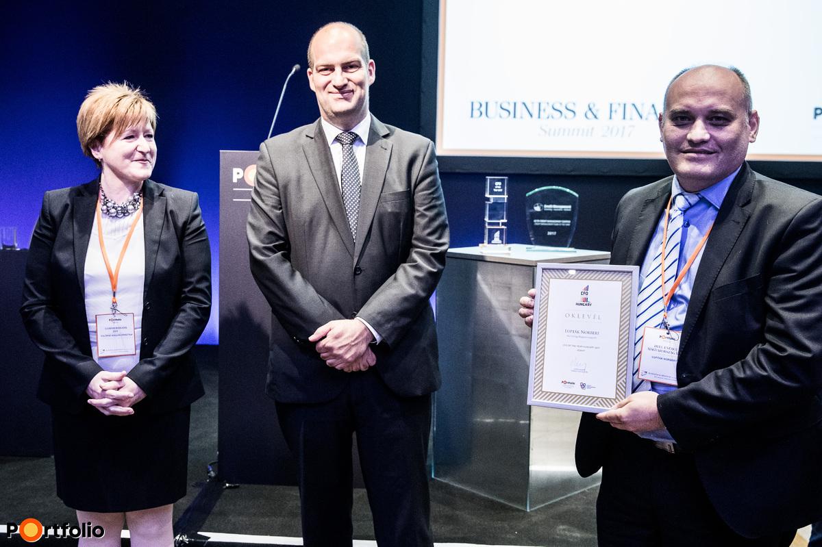 Lupták Norbert (Hell Energy Magyarország Kft.) - CFO of the year díj jelölt
