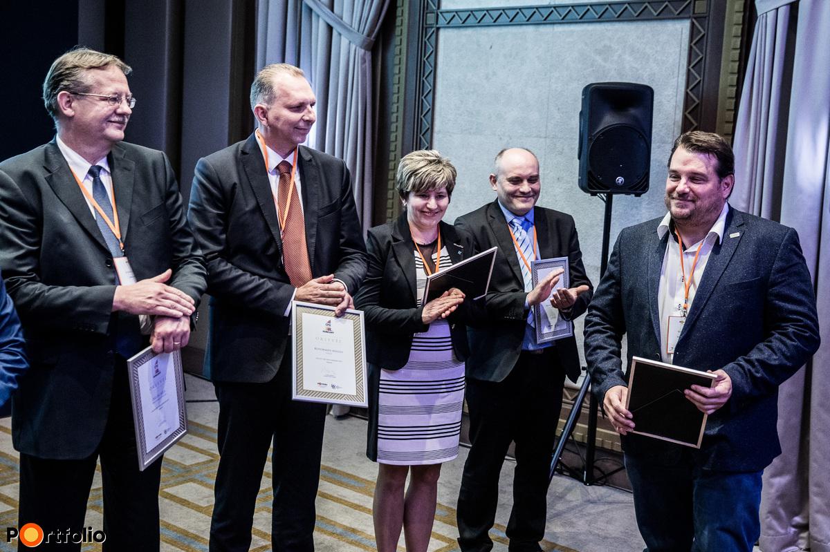 A CFO of the year díj nyertese: Szász Károly (Bonafarm Zrt.)
