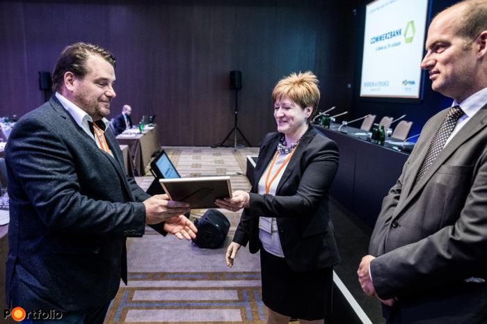 Szász Károly (Bonafarm Zrt.) - CFO of the year díj jelölt