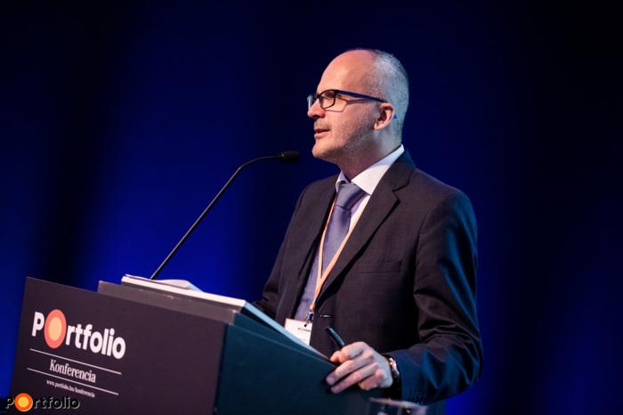 A konferencia szakmai társszervezője, Kozma András (vezérigazgató, RiskCover Hungary Zrt.)