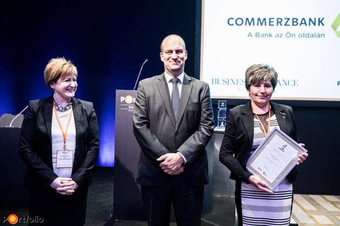 Ibolya Kovács (Sanatmetál Kft.) - CFO of the year award nominee