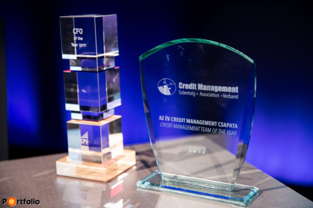 The CFO of the year and the Credit Management Team of the year awards