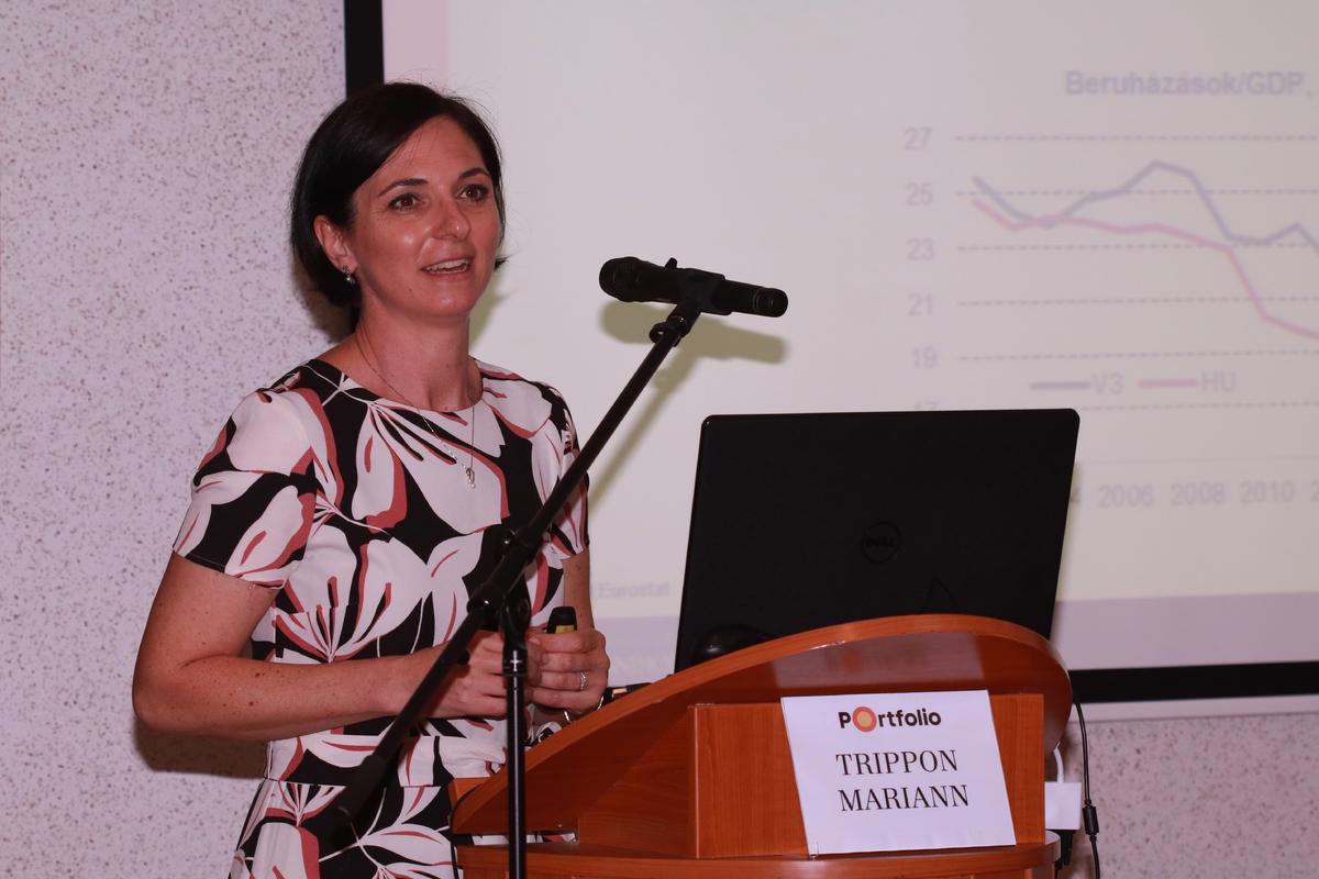 Trippon Mariann (vezető elemző, CIB Bank): Makrogazdasági áttekintés: Világgazdasági hatások és a magyar növekedési út: mi vár a magyar gazdaságra és a forint árfolyamára?