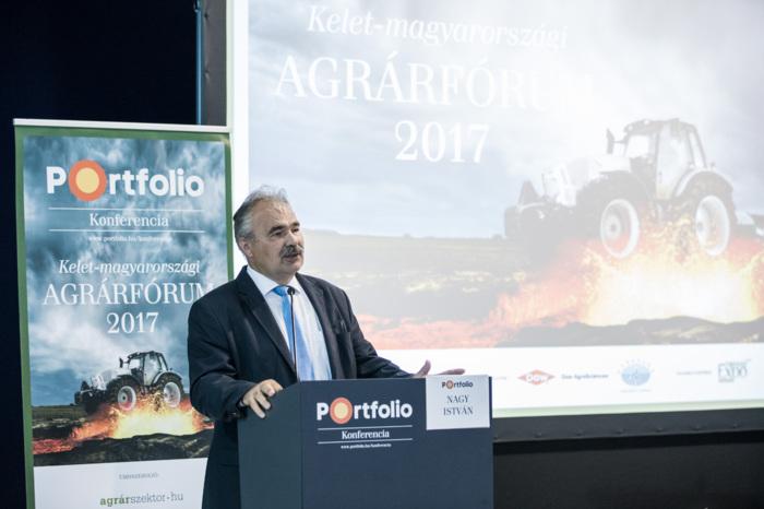 Nagy István, a Földművelésügyi Minisztérium parlamenti államtitkára köszöntötte a rendezvény résztvevőit
