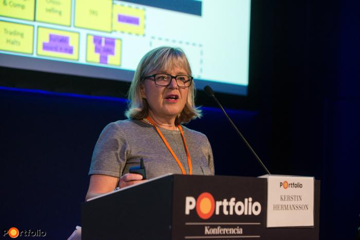 Kerstin Hermansson (Member, SMSG – Esma): MiFID 2. bevezetésének kihívásai és gyakorlati tanácsok az Esmától
