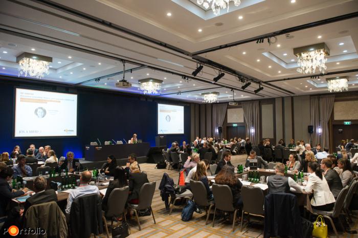 """Több, mint 150 fő részvételével került megrendezésre a """"Jön MiFID 2."""" c. konferenciánk."""