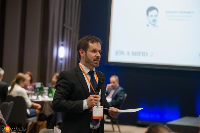 Baranyi Gergely (Compliance Officer, Erste Befektetési Zrt.): Termékirányítás és kialakítás: mire kell figyelni?
