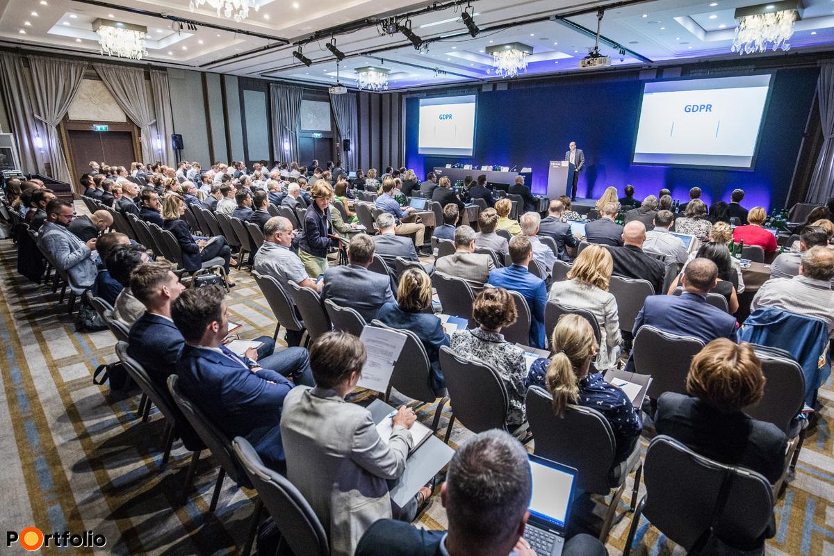 Csaknem 200 fő részvételével került megrendezésre a Portfolio-TechData GDPR Summit 2017 c. konferenciánk