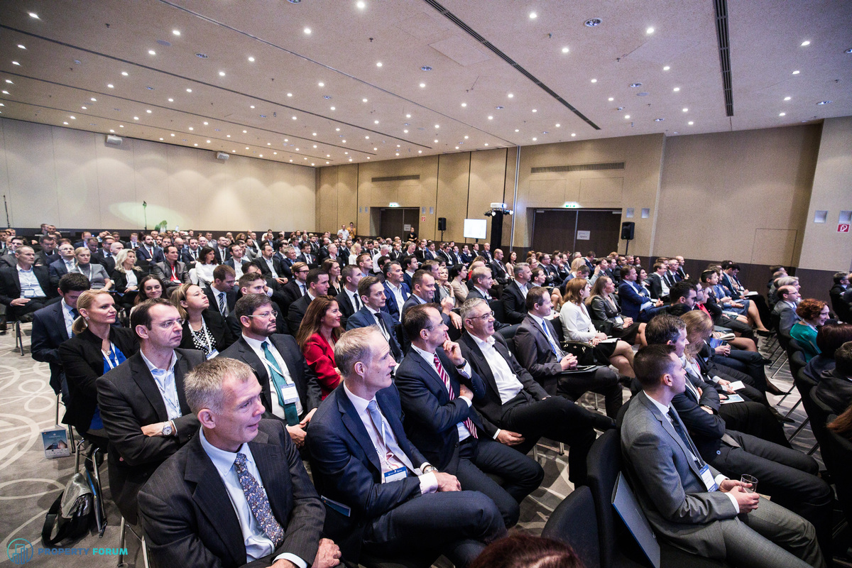 Nearly 400 participants at the CEE Property Forum 2017!