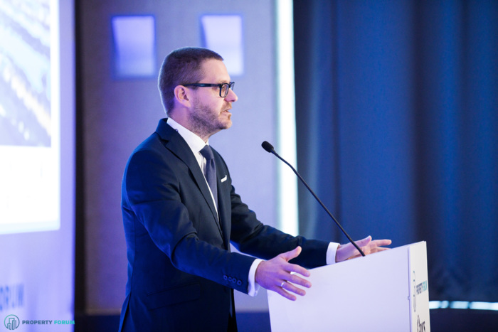 Welcome remarks by Csanád Csűrös (CEO, Property Forum)