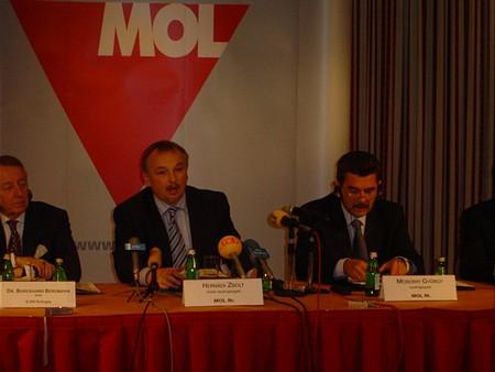 Hernádi Zsolt és a Mosonyi György