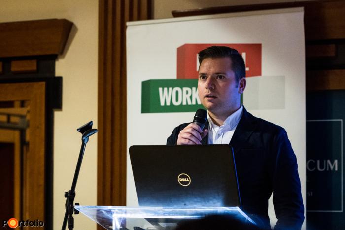 Nagy Bálint (vezető szerkesztő, Pénzcentrum) moderálta a klubot