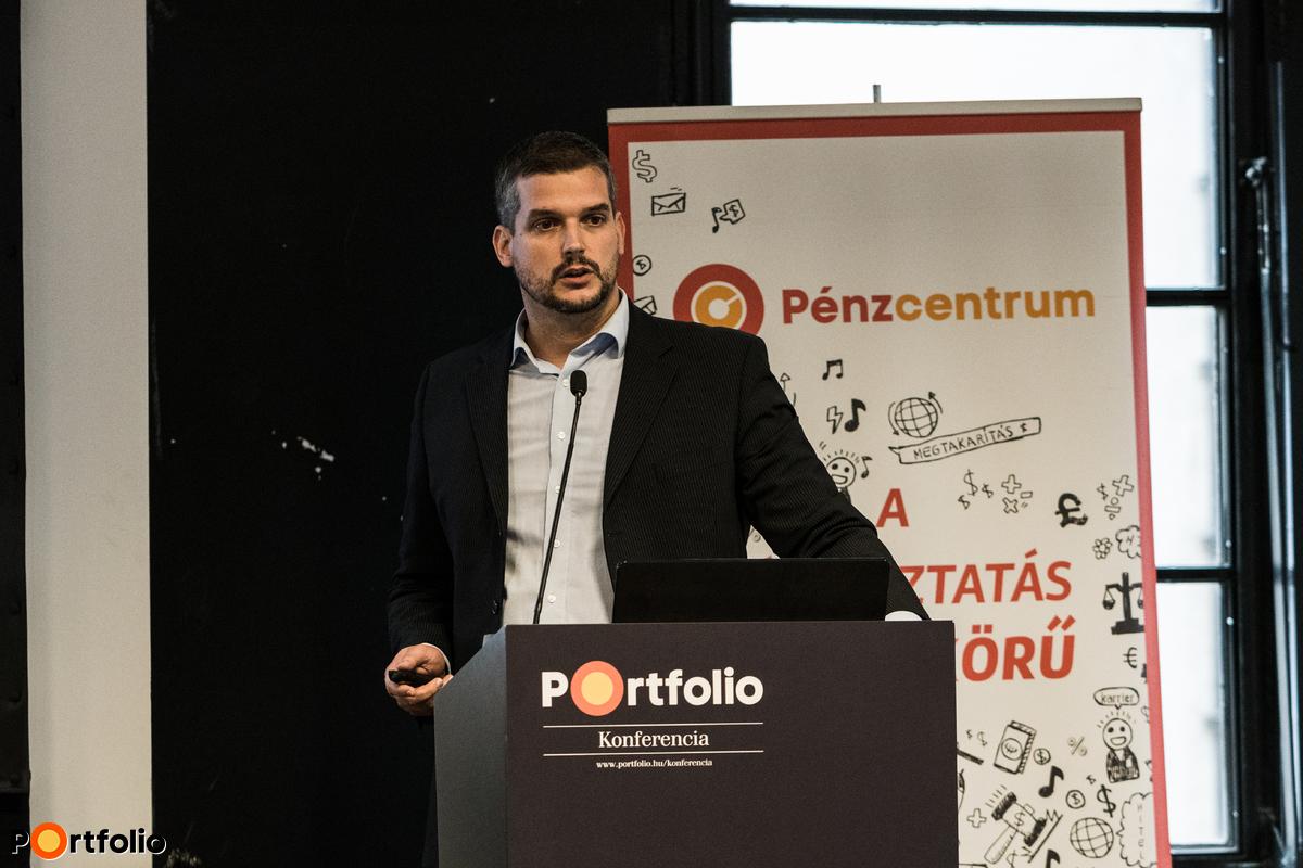 Veresegyházi Gábor (online értékesítési vezető, Aegon Magyarország  Befektetési Alapkezelő Zrt.)