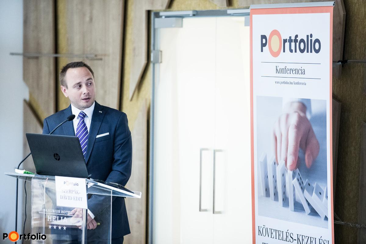 dr. Gráf András (jogtanácsos, OVB Vermögensberatung Kft.): Egyedi követeléskezelési igények informatikai támogatása