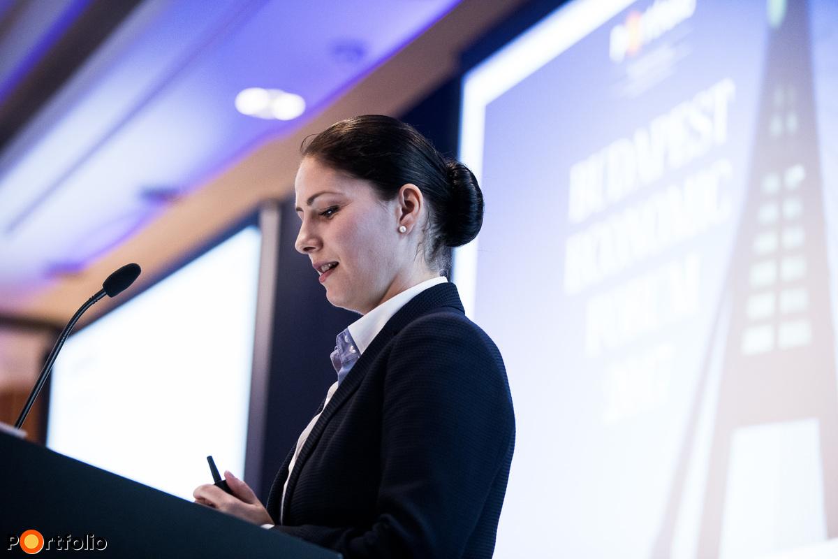 Otilia Dhand PhD (Senior Vice President, Teneo Intelligence): A mélyülő EU-integráció lehetőségei és kihívásai a kelet-közép-európai országok szemszögéből