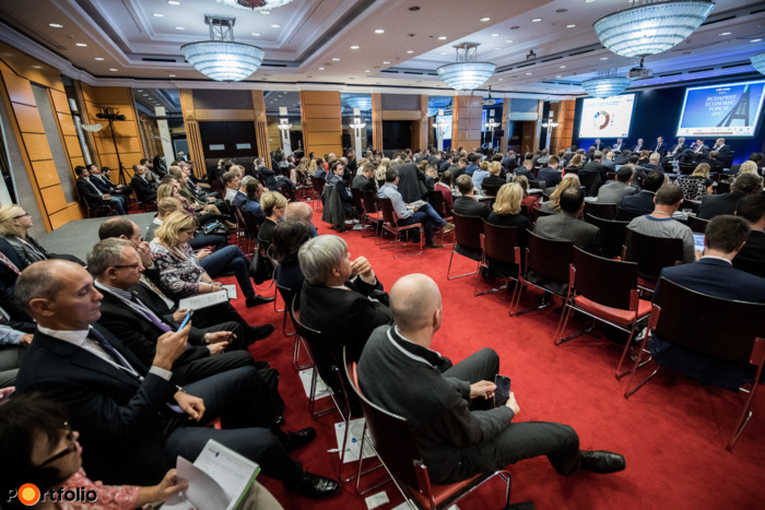 Nearly 250 participants attended the Portfolio Budapest Economic Forum 2017 Conference