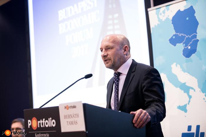Bernáth Tamás (elnök-vezérigazgató, MFB Zrt.): Gazdaságfejlesztés Magyarországon