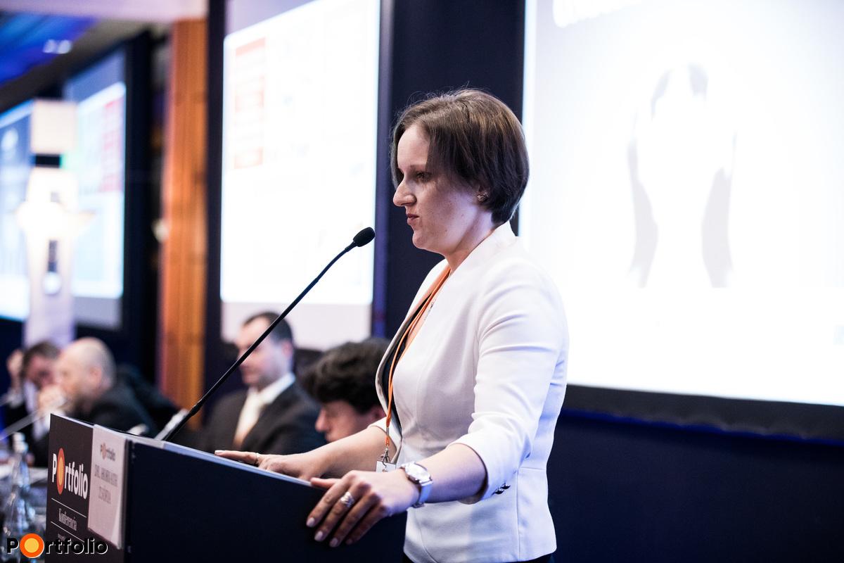 Dr. Horváth Zsófia (főtitkár, Önkéntes Pénztárak Országos Szövetsége): A nyugdíjcélú megtakarítási lehetőségek bemutatása