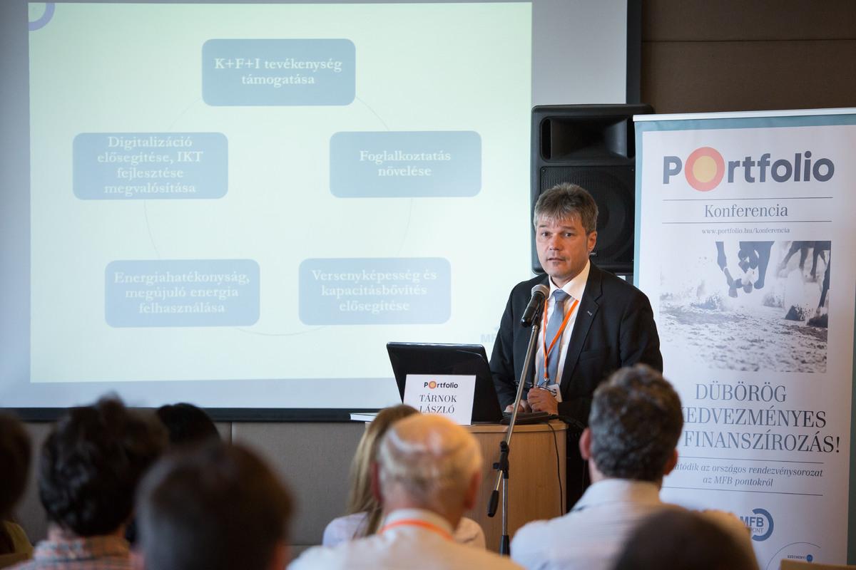 Tárnok László (szenior szakmai támogató, MFB – Magyar Fejlesztési Bank): Uniós támogatások elérhetősége és folyamata az MFB Pontokon
