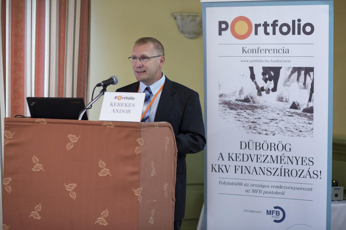 Kerekes Andor (szenior szakmai támogató, MFB – Magyar Fejlesztési Bank): Uniós támogatások elérhetősége és folyamata az MFB Pontokon