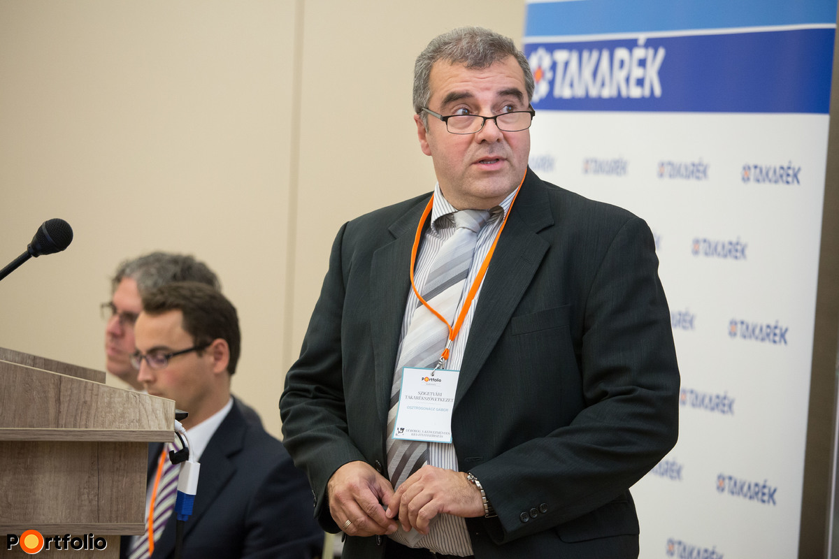 Osztrogonácz Gábor (elnök-ügyvezető, Szigetvári Takarékszövetkezet)