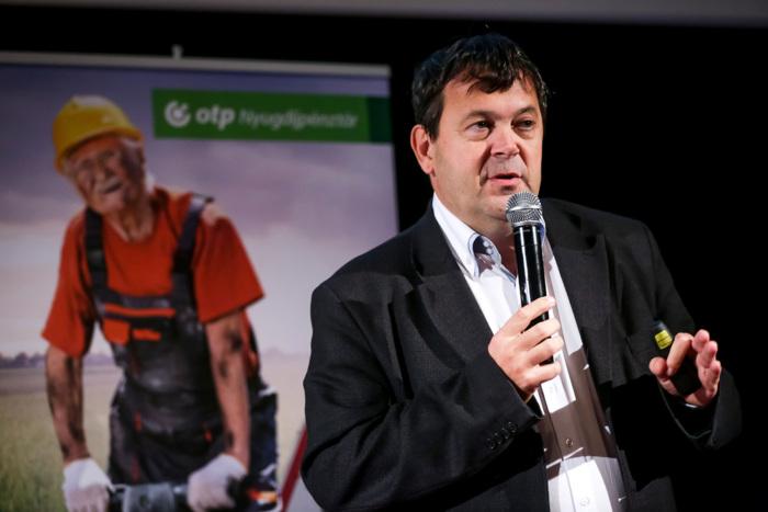 Nagy Csaba (ügyvezető igazgató, OTP Önkéntes Nyudíjpénztár, Pensions Europe IT tagja)
