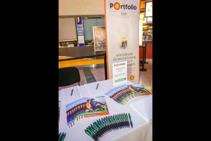 A Portfolio és az OTP Önkéntes Nyudíjpénztár közös klub rendezvénye