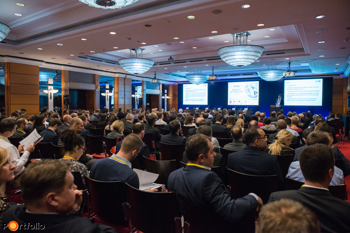 Over a 300 participants attended the Portfolio Banking Technology 2017conference