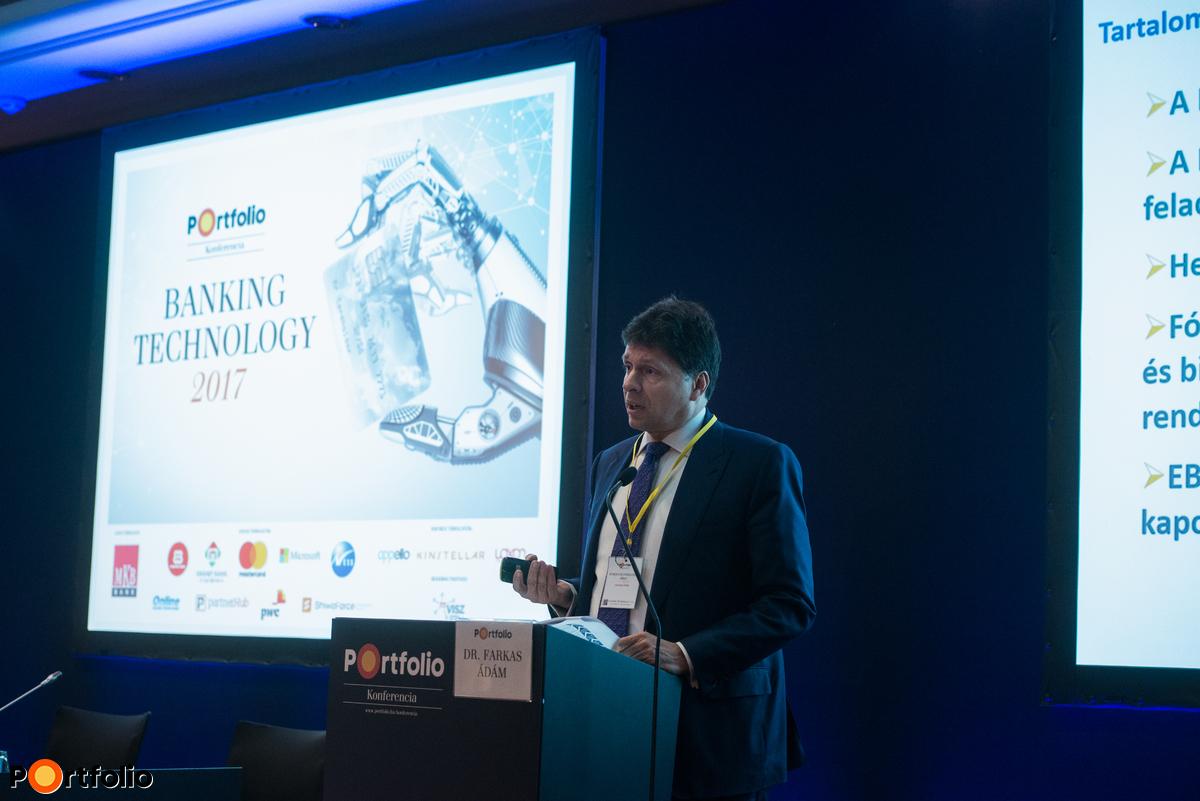 Dr. Farkas Ádám (főigazgató, Európai Bankhatóság (EBA)): Jön a PSD2, mire számíthatnak a bankok?