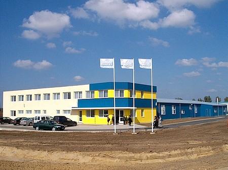 Nyíregyháza, Ipari Park, Gyártócsarnok és irodák