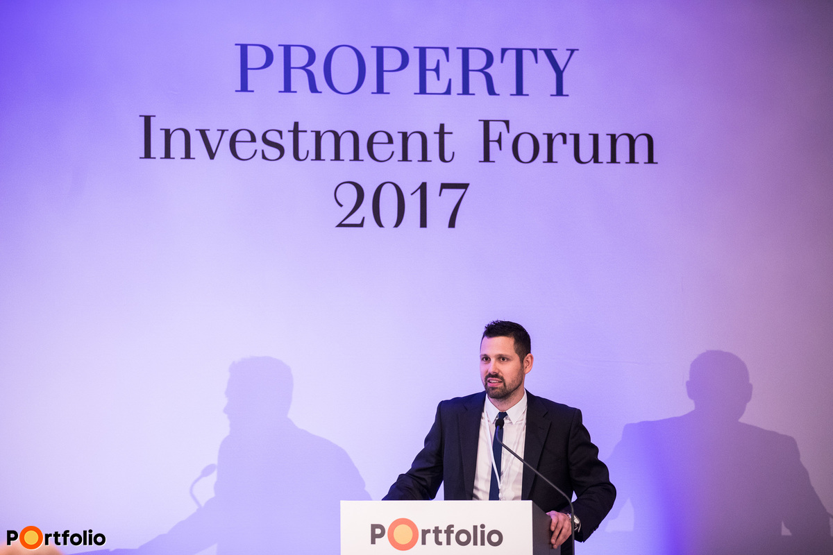 Gergely Ditróy (Head of Property Division, Portfolio), moderator of the Office, Property Management section