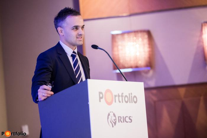 7 perces villámprezentációk: Ratatics Péter (Fogyasztói és Ipari Szolgáltatások COO, MOL).