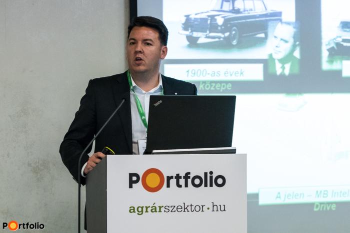 Szilveszter Zoltán (key account manager, Mercedes-Benz Hungária Kft.): A jövő áruszállítási megoldásai