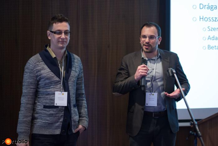 Liktor Gábor és Molnár Csaba, alapítók, DoksiGYÁR.hu: Ja, hát így könnyű! Okos szerződések és szerződés-automatizálás
