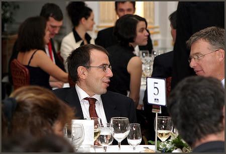 László Csaba (KPMG), Vértes András (GKI)