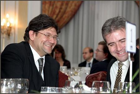 Tőzsdék egymás között: Stefan Zapotocky (Wiener Börse), Szalay-Berzeviczy Attila
