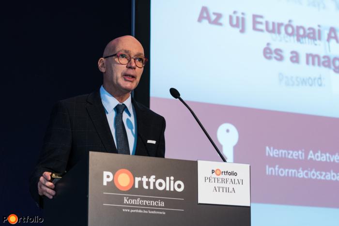 Dr. Péterfalvi Attila (elnök, NAIH): GDPR itthon - A legfontosabb változások a háttérszabályozásban