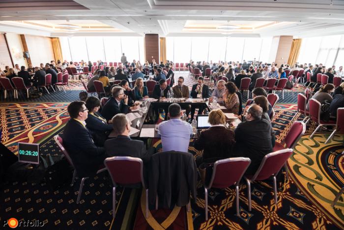 Több mint 250 fő a Portfolio GDPR Summit 2018 konferencián a Marriott Hotelben